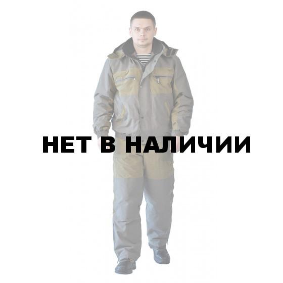 Костюм мужской Вихрь-Ямал демисезонный хаки комбинированный Финляндия, подкл термостежка
