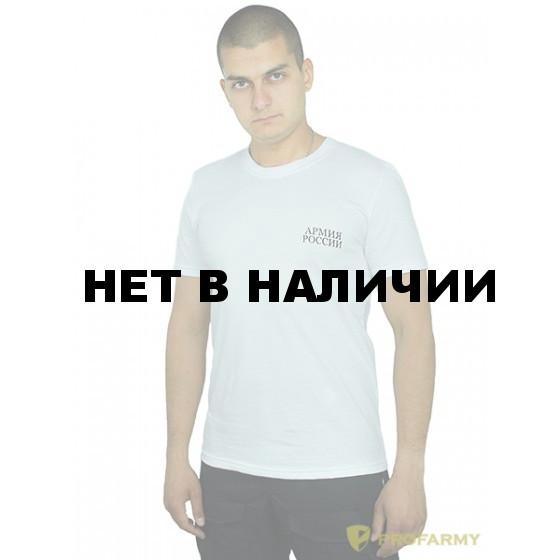 Футболка Армия России офисная белая