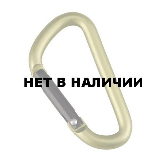 Карабин D-формы, диам. 8*80 мм (упак=10 шт), 3208