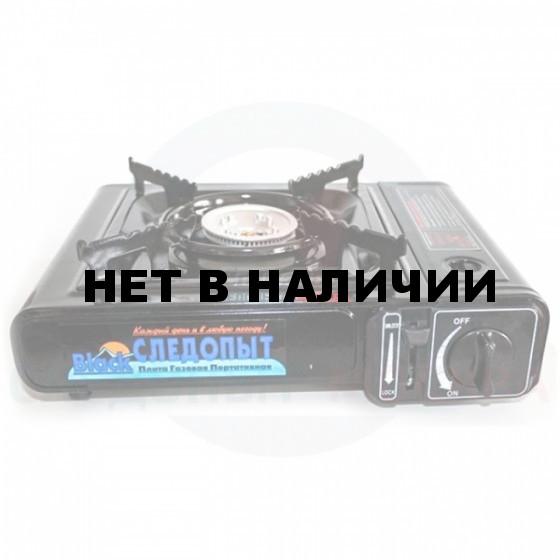 Газовая плита Следопыт PoweR Black (с переходником) PF-GST-N05