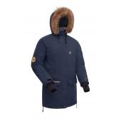 Женская пуховая куртка-парка BASK IREMEL синий тмн