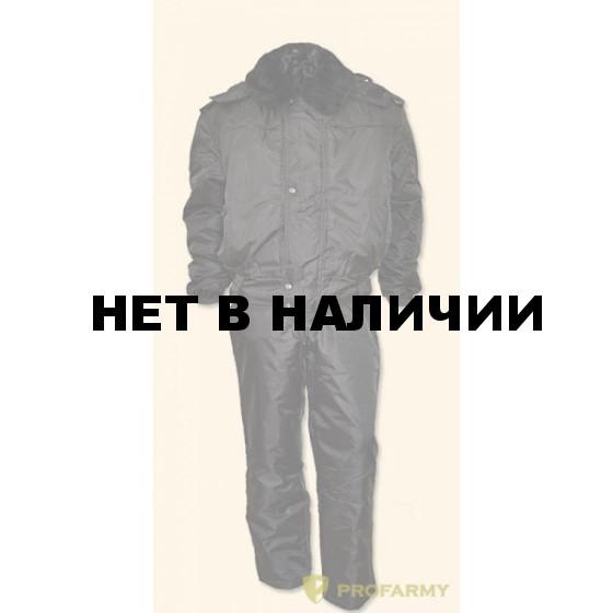 Костюм зимний П-1/1 черный оксфорд
