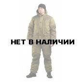 Костюм мужской Горка 3 зима, ткань палатка/оксфорд, цвет хаки, синтепон+флис