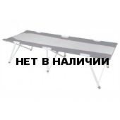 Кровать Campingliege Toledo XL серый/тёмно-серый, 204 x78,5 x51 см, 44139