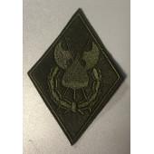 Нашивка на рукав ФСБ Комендантское Управление полевая вышивка шелк