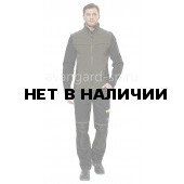 Куртка софтшелл Тайм цвет черный-хаки