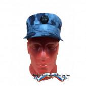 Кепка Росгвардия (цвет синий мох, ткань Peach effect, без кокарды)