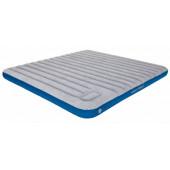Матраc надувной Air bed Cross Beam King Extra Long lightgrey/blue, 210x185x20, 40047
