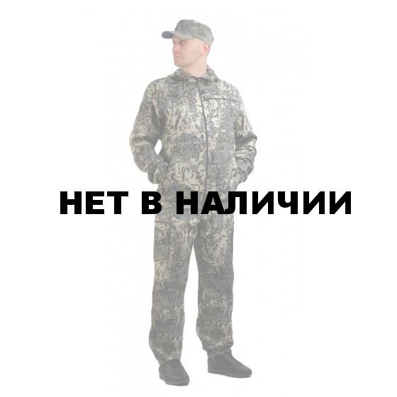 Костюм ТУРИСТ 3 куртка/брюки, цвет:, камуфляж Сетка зеленый, ткань : Грета