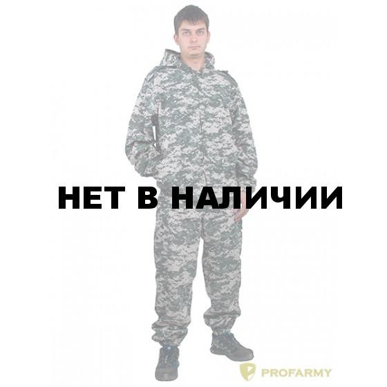 Костюм КЗМ-4 Cерая цифра (рип-стоп 170)
