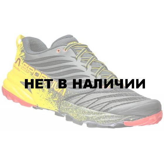 Кроссовки Akasha Black/Yellow, 26YBY