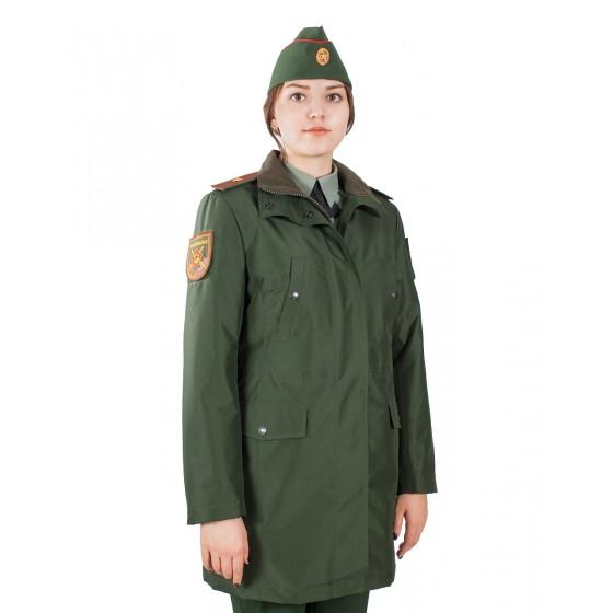 Куртка женская демисезоннаяМПА-59 (зеленый/рип-стоп)