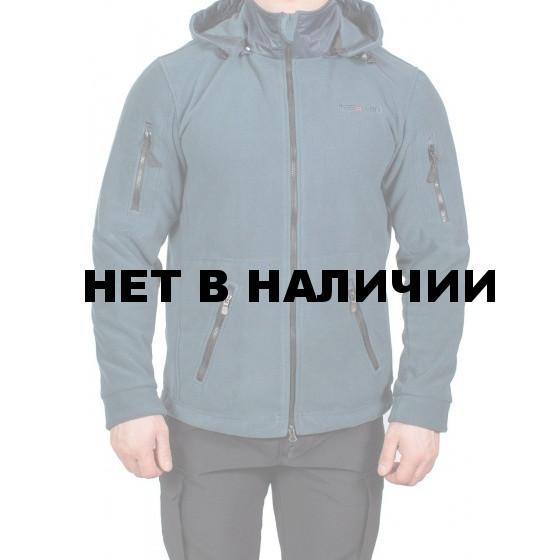 Куртка МПА-63 (флис серо-синий, твил синий)