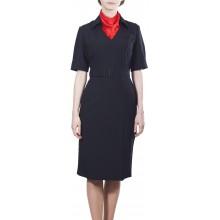 Платье Полиция/Юстиция МВД с коротким рукавом нового образца
