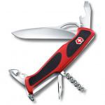 Нож перочинный Victorinox RangerGrip 61 (0.9553.MC) 130 мм красный/черный