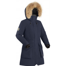 Пальто пуховое женское BASK VISHER темно-синие