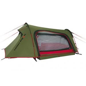 Палатка Sparrow 2 зелёный/красный, 160х250см, 10186