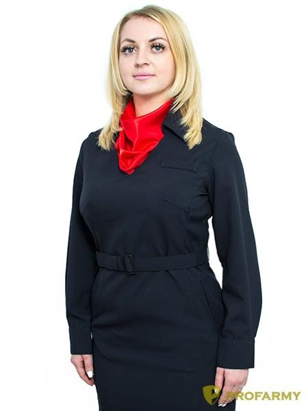 ba4abe4ee58b0e3 Платье Полиция, длинный рукав, габардин, производитель PROFARMY ...