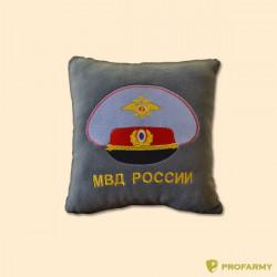 Подушка сувенирная с вышивкой МВД