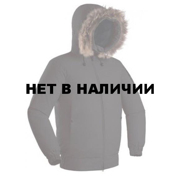 КУРТКА ПУХ YGRA ЧЕРНЫЙ L