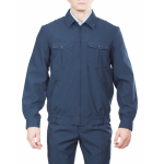 Куртка ГУИН, ткань Габардин серо-синий