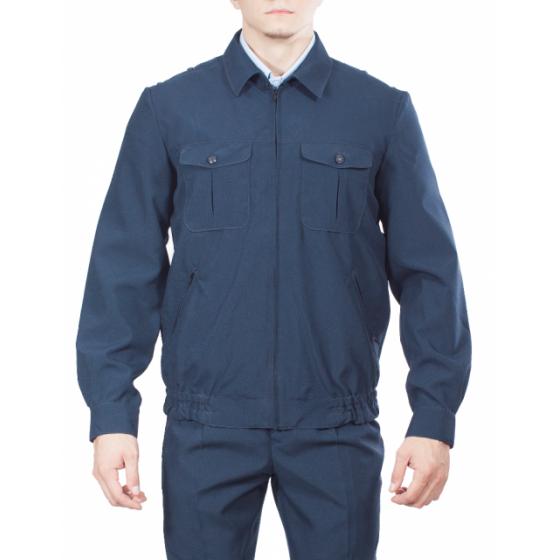 Куртка УИС, ткань Габардин серо-синий