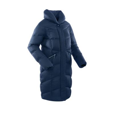 c89cd06b9572 Пальто пуховое женское BASK LUNA темно-синее недорого - 17 600 р ...