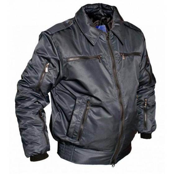 Куртка демисезонная МПА-34 (Пилот) иссиня-черный твил/файбертек 120