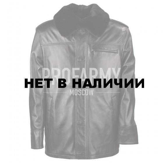 Куртка мужская из натуральной кожи СК Nappa Black