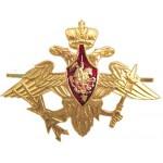 Эмблема Орел ВС Космические войска на тулью металл