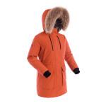 Куртка пуховая женская BASK LYRA темно-оранжевая