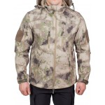 Куртка с капюшоном МПА-26-01 (ткань софтшелл), камуфляж песок
