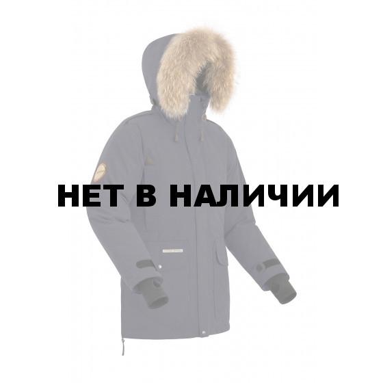 Куртка пуховая BASK PUTORANA серая тмн
