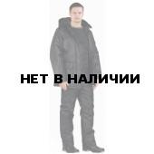 Костюм мужской Охрана зимний ЧЁРНЫЙ