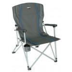 Кресло Malaga серый/голубой, 44120