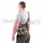 Сумка на плечо KE Tactical Sturm 4.5 литра Polyamide 500 Den A-Tacs FG