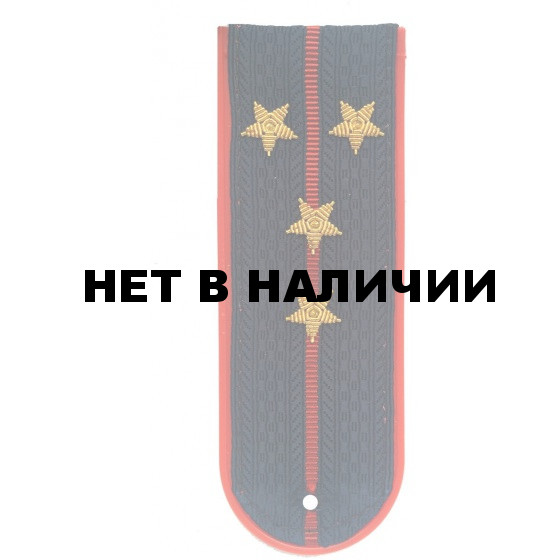 Погоны Полиция (капитан) пласт/зол.
