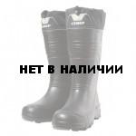Сапоги зимние ЭВА Рокс Север С182 (-60С) черные(полушерстяной мех, манжета)