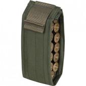 Подсумок-патронташ для 12 патронов 12 калибра олива