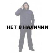 Костюм мужской К-80 летний т. синий с капюшоном, ткань лавсан