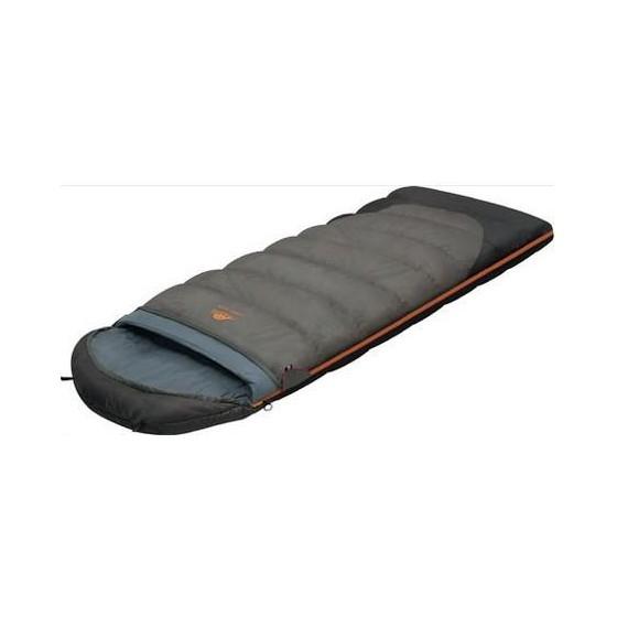 Мешок спальный TUNDRA Plus XL серый, правый, (195+35) x 110