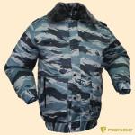 Куртка Снег Р51-07 с подстегом (синий камыш)