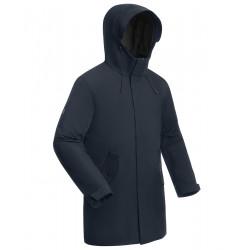 Пальто утепленное BASK MINKAR синий тмн
