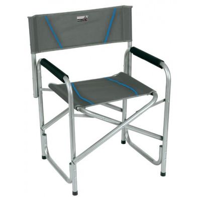 Кресло Cadiz темносерый/голубой, 44129