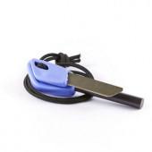 Огниво с кресалом профессиональной серии, FIRE-FLASH Pro SMALL от WILDO® BLUEBERRY, 9475