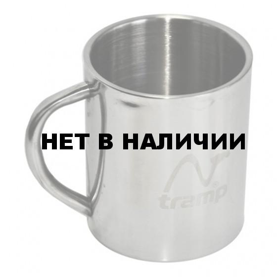 Кружка с металлической ручкой 300мл TRC-009