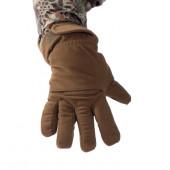 Перчатки Keotica мембрана на флисе олива