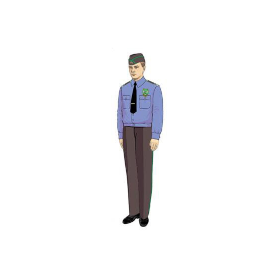 Рубашка Россельхознадзор с длинным рукавом (пошив по меркам)