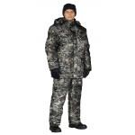 Костюм зимний СКАНДИН куртка/полукомб. цвет:, камуфляж Дымка, ткань : Алова