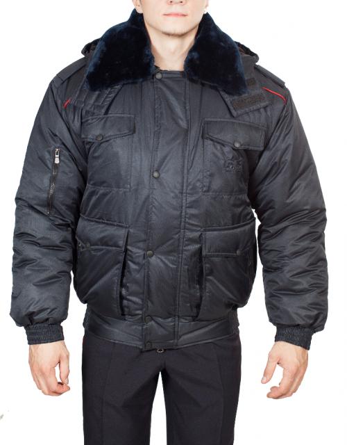 5b7eed870569 Куртка ПОЛИЦИЯ всесезонная укороченная (твил файбертек ...